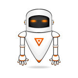 Modern Robot. Vector cartoon illustration of Modern Robot Royalty Free Stock Image