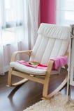 Modern rocking chair Royalty Free Stock Image