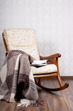 Modern rocking chair Royalty Free Stock Images