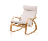 Modern rocking chair  Stock Images