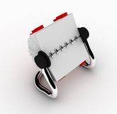 Modern Rolodex with Tabs Stock Image