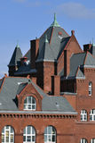Modern romanesque architecture Royalty Free Stock Photos