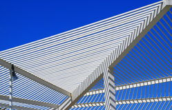 Modern roof architecture Stock Image
