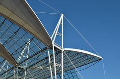 Modern Roof Structure Stock Photography