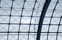 Modern roof structure Royalty Free Stock Photo