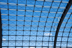 Modern roof structure Royalty Free Stock Photos