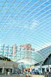 Modern roof structure Royalty Free Stock Image