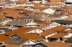 Modern rooftops Royalty Free Stock Images