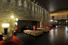 Modern room. Iinterior building - Portugal - Europe Stock Image