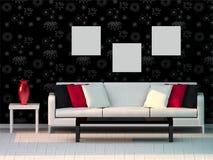 Modern room Stock Photography