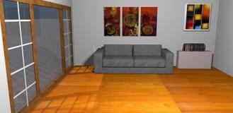 Modern room Royalty Free Stock Photo