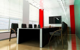 Modern room for meetings Royalty Free Stock Images
