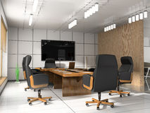 Modern room for meetings Stock Photography
