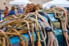 Modern ropes Stock Image
