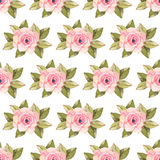 Modern rose seamless pattern Stock Photography