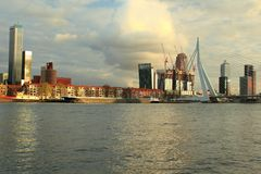 Modern Rotterdam Royalty Free Stock Photo