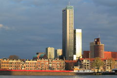 Modern Rotterdam Stock Image