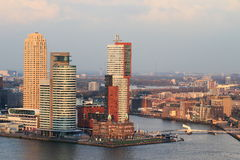 Modern Rotterdam Stock Images