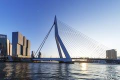 Modern Rotterdam Skyline Stock Photos
