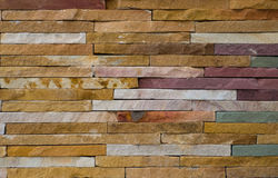 Modern rough brick texture wall, colorful rough brick wall backg Stock Photography