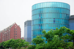 Modern Round Building in Shanghai Royalty Free Stock Photography