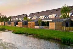 Modern row houses Royalty Free Stock Photo