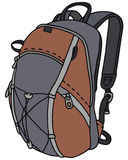 Modern rucksack Royalty Free Stock Images