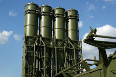 Modern Russian anti-aircraft missiles Stock Image