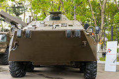 Modern russian armored vehicles. Royalty Free Stock Photo