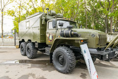 Modern russian armored vehicles. Royalty Free Stock Photography