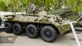 Modern russian armored vehicles. Royalty Free Stock Images