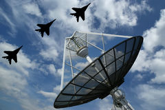 Modern Russian radar Stock Photography