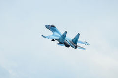 Modern Russian strike fighter Su-35 Stock Image