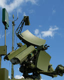 Modern Russian UNV-2V radar Royalty Free Stock Photos
