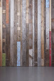 Modern rustic wall Stock Images