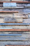 Modern rustic wall Royalty Free Stock Photography