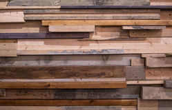 Modern rustic wall Stock Photo
