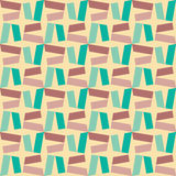 Modern sömlös färgrik geometrimodell för vektor, färgabstrakt begrepp Royaltyfri Fotografi