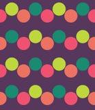 Modern sömlös färgrik geometrimodell för vektor, färgabstrakt begrepp Royaltyfria Foton