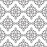 Modern sömlös sakral geometrimodell för vektor royaltyfri illustrationer