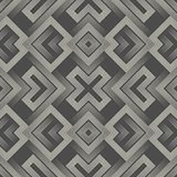 Modern Sacred Geometry Background. Wrapping Paper Aztec Ornament Stock Photo
