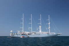 Modern sailing ship Stock Photography