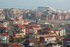 Modern Saint Vlas in Bulgaria Royalty Free Stock Photos