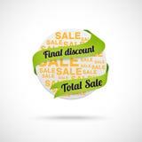 Modern sale badge Stock Photos