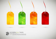 Modern Sale Tag Royalty Free Stock Photos