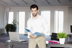 Modern sales man portrait Royalty Free Stock Photography