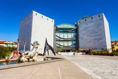 Modern samtida Art Museum, Nice royaltyfria foton