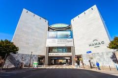 Modern samtida Art Museum, Nice royaltyfri fotografi