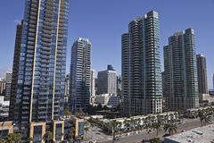 Modern San Diego Royalty Free Stock Photo
