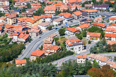 Modern San Marino Suburban districts Stock Photography